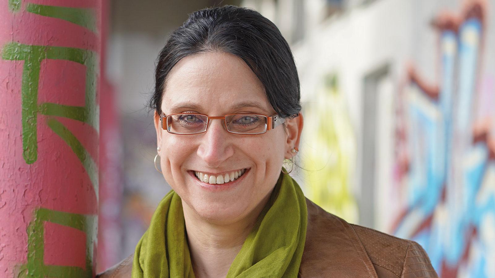Melanie Diesenbacher, JUSTiQ (Jugend stärken im Quartier)