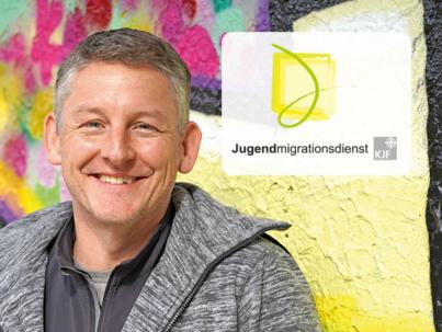 Rico Lanzendörfer - Jugendmigrationsdienst (JMD)